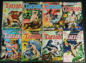 TARZAN-OF-THE-APES-D-C-1972-207-TO-258-COMP-KUBERT-NEW-AND-SOME-REPRINTS