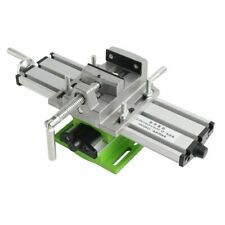 Precision Multifunction Milling Machine Bench Drill Vise Worktable X Y Axis
