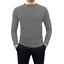 Maglione-uomo-Girocollo-Casual-slim-fit-Maglioncino-Cashmere-Blu-Nero-Verde-Blu miniatura 19