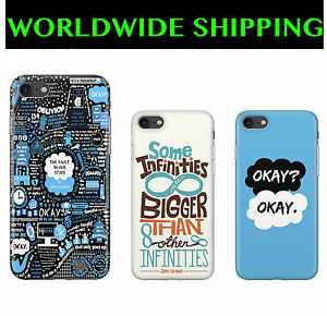 online retailer b008d 9cbd3 Details about Quote Okay The Fault In Our Stars John Green Novel Case for  Iphone 4/5/6/7/Plus