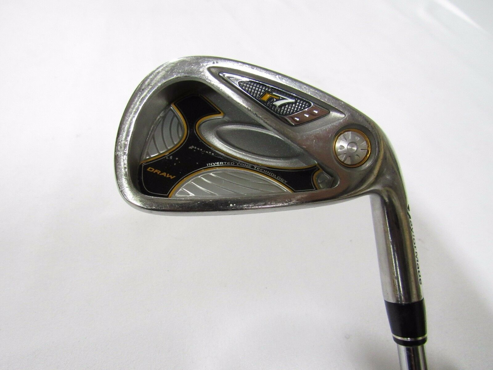 Used RH TaylorMade r7 Draw Single 4 Iron T-Step 90 Steel Shaft Stiff S-Flex
