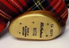 Hand Made St Andrews MK VII Wooden Mallet Putter + Head Cover