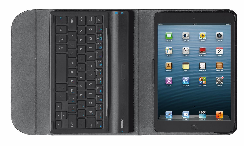 Trust Folio Stand With Bluetooth Keyboard Executive Case for Apple iPad Mi  3150