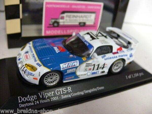 1 43 Minichamps Dodge Viper GTS-R Daytona 24hrs 01