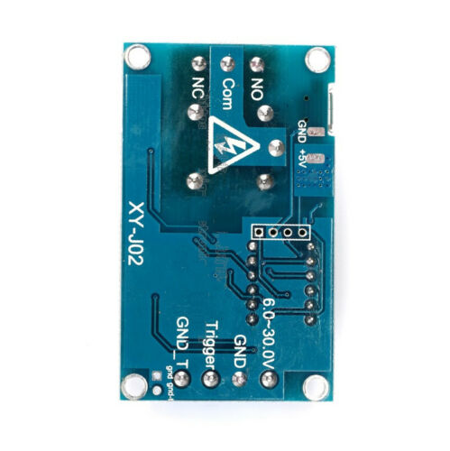 1 Channel 5V Relay Module Time Delay Relay Module Trigger Switch Timing Cycle  C