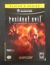 Resident Evil: 10th Anniversary Edition Player's Choice (GCN, 2006) ONE SEALED
