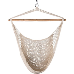 40 Lazy Daze Hammocks Hanging Caribbean Hammock Chair Soft-Spun Cotton Rope