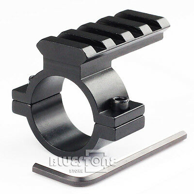 "20mm Weaver Picatinny Rail Barrel Mount 25.4mm 1"" Ring Scope Adapter"