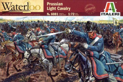 ITALERI napoléonienne Cavalerie légère Prussienne 1/72 ème 04899 Revell it6081 nouvelle boxe
