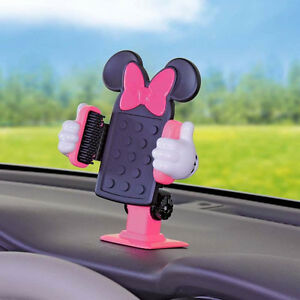 new disney minnie mouse 3d phone mount holder car accessories. Black Bedroom Furniture Sets. Home Design Ideas