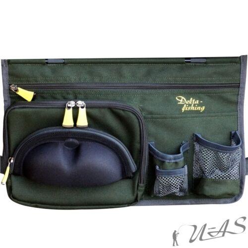 Delta Fishing Seitentasche für Karpfenliege Liegen Tasche Brillenfach Rba