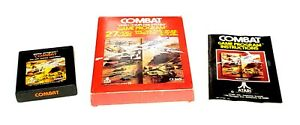 Combat (Atari 2600, 1977) Cart, Manual and Original Box, CIB, (Tested)