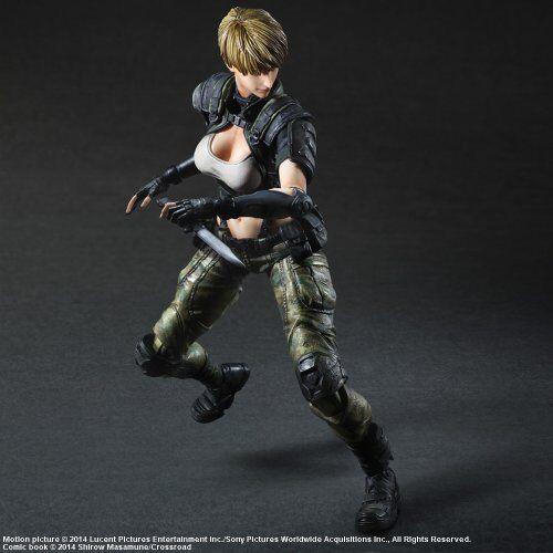 Square Enix Appleseed Alpha Play Play Play Arts Kai Deunan Figure NEW from Japan c447e1