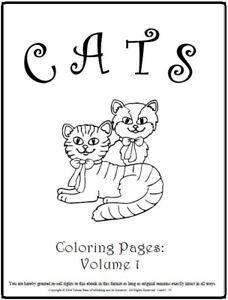 Malbuch 49 Malvorlagen Lustige Katzen Ausmalbilder Als Pdf Kinder Malen Ebay