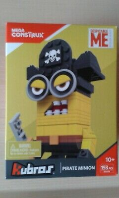 Mega Bloks kubros Pirate Minion dxb93