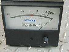 New Stokes Tbc 14c Vacuum Gauge Pressure In Millimeters Of Mercury