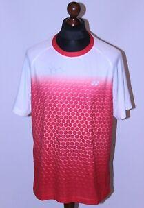 Badminton match worn shirt Rasmus Gemke Denmark team Yonex Size L