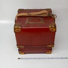 Rare & Unusual Hercules Marine Ship's Chronometer Clock Box Carry Transport Case
