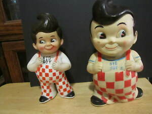 Nos 2004 BOBS BIG BOY DASHBOARD BOBBLE HEAD 1950 VINTAGE STYLE 4-1//4/""