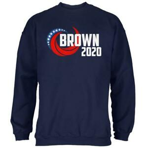 Best Mens Sweatshirts 2020 Presidential Election 2020 Jerry Brown Swoosh Mens Sweatshirt | eBay