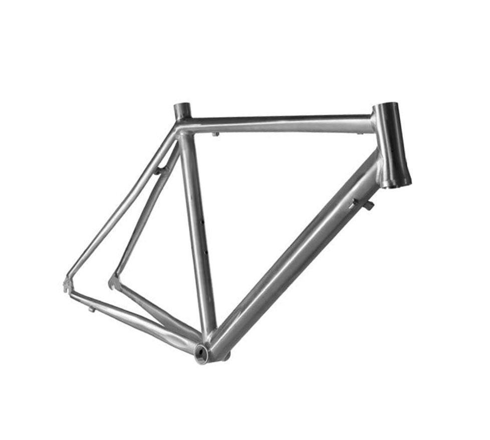 Telaio corsa strada alluminio conico bsa taglia 55 RIDEWILL BIKE bici strada