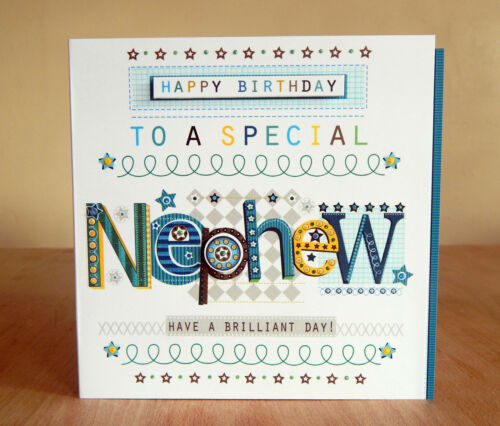 Male birthday cards Special Son in Law Dad /& Grandad Nephew Cousin Daddy Brother