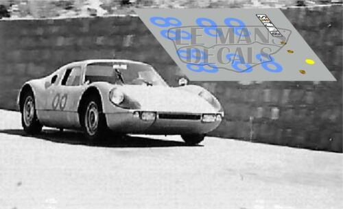 Calcas Porsche 904 Targa Florio 1964 1:32 1:24 1:43 1:18 1:64 1:87 slot decals