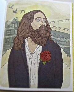 Iron-and-Wine-Mini-Indie-Rock-Poster-Unsigned-Offset-Lithograph-Reprint-14x11
