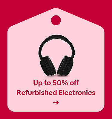 Up to 50% off Refurbished Tech & Audio