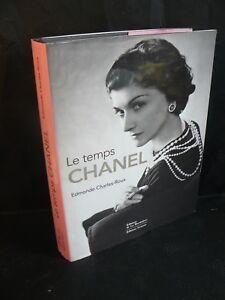 Details Sur Edmonde Charles Roux Le Temps Chanel Parfum Parfumeur Beau Livre Illustre Tbe