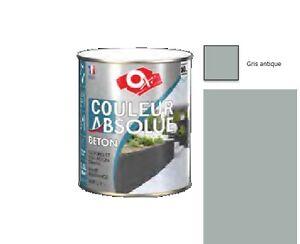 Peinture Couleur Absolue Beton Gris Antique 25l Oxi Cloture Béton