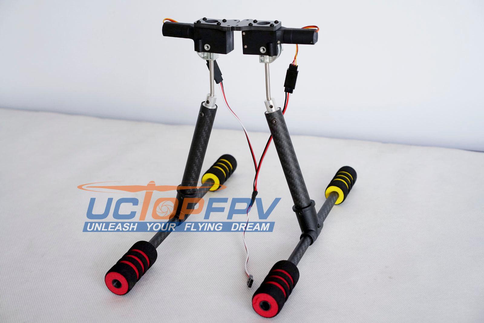 DJI Flamewheel F550 Carbon Fiber  CNC Retractable Landing Gear FPV Inspire 1