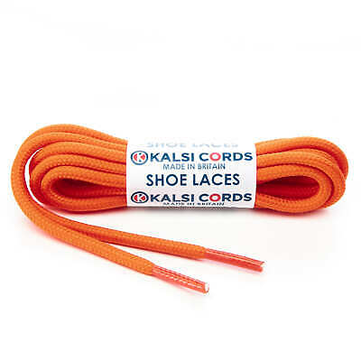 release date competitive price latest discount ORANGE ROUND CORD SHOE LACES STRONG THICK ROPE LACE PAIR FOR SPORT ...