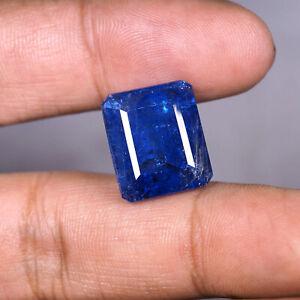 NATURAL-Huge-Tanzanite-20-72-Cts-Gleaming-Blue-Top-Quality-Emerald-Cut-Gemstone