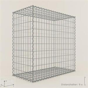 gabione steinkorb 100 x 100 x 100 cm maschenweite 5 x 10 cm gabionen ebay. Black Bedroom Furniture Sets. Home Design Ideas