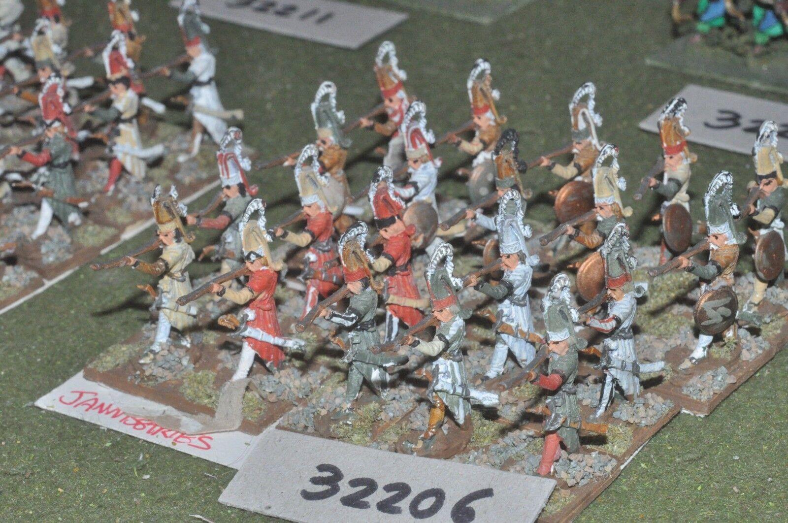 25mm renaissance   turkish - janissaries 20 figures - inf (32206)
