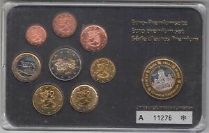 FINLANDE - 2006 série de 8 pièces de 1 ct a 2 euros + médaille (1280747047)