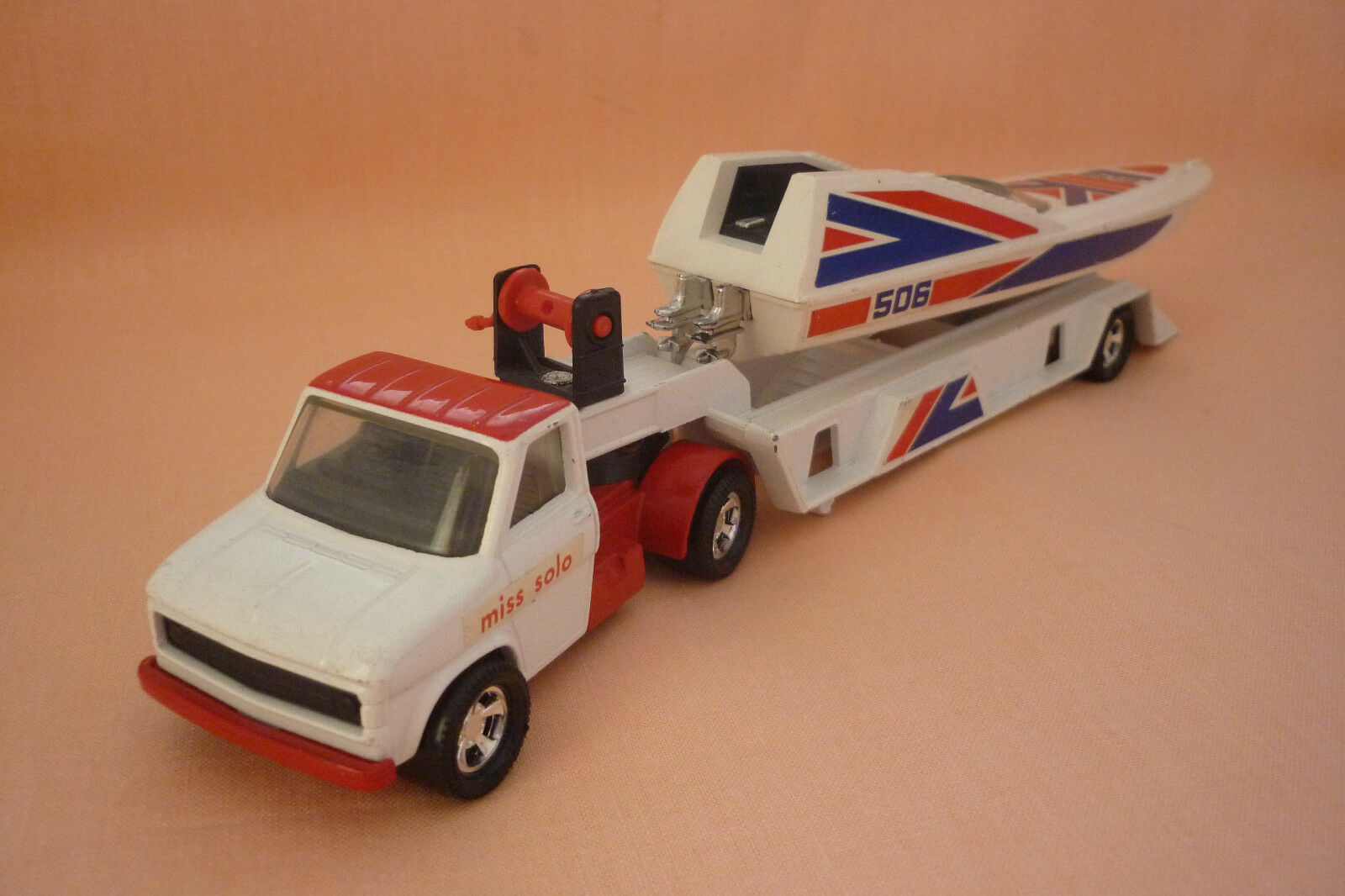 Matchbox - Super Kings - K-27 - Ford 'A' with bootauflieger - 1977 (3.mb-16)