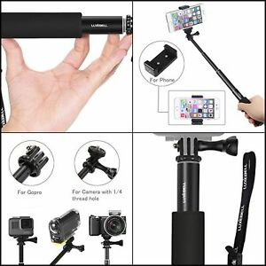 low priced ce6b3 384fe Details about Handheld Waterproof Selfie Stick for GoPro Hero5 Camera,  iPhone 6, and Android