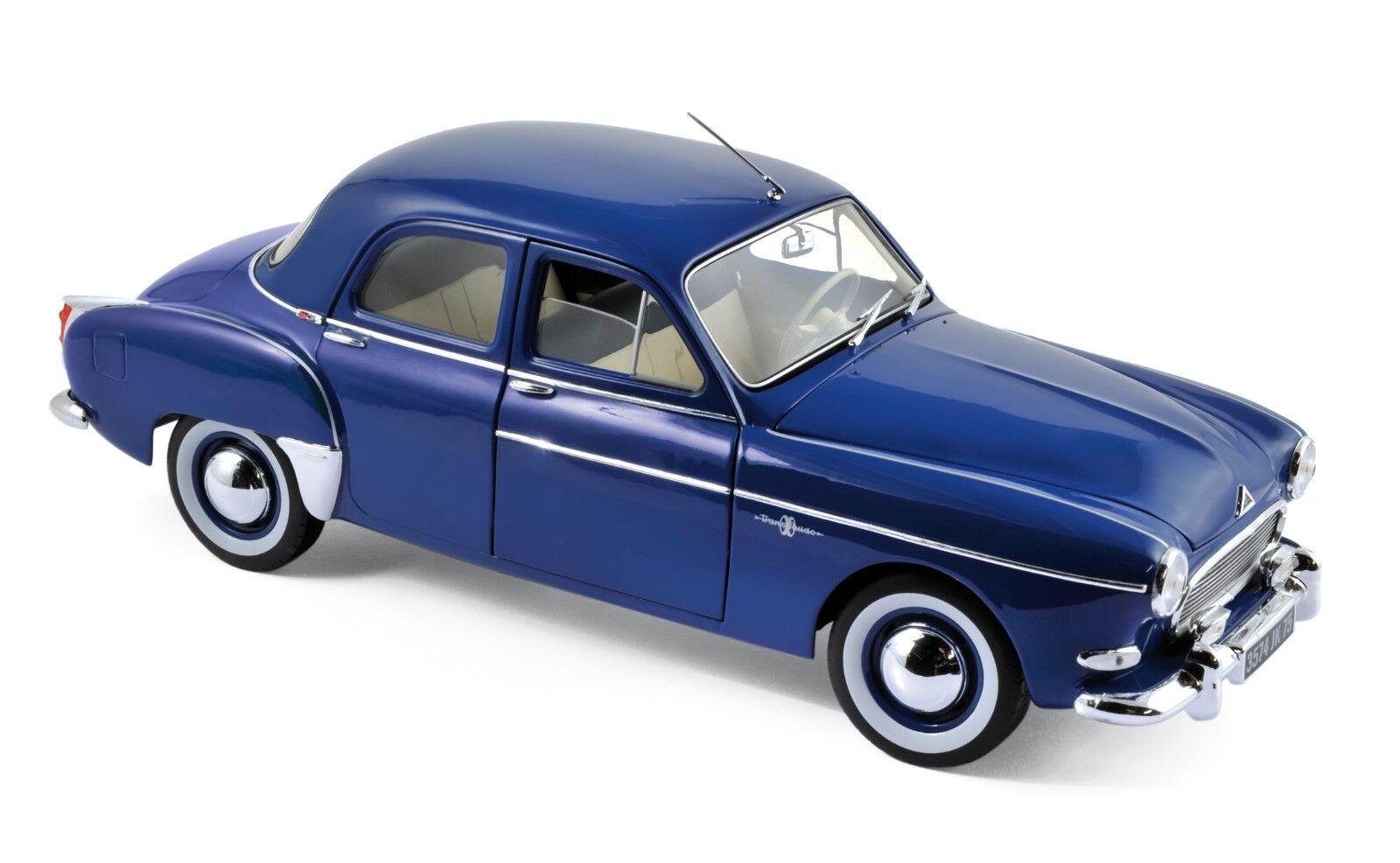 Renault Fregate 1959 blu 1 18 norev nuevo & OVP 185280