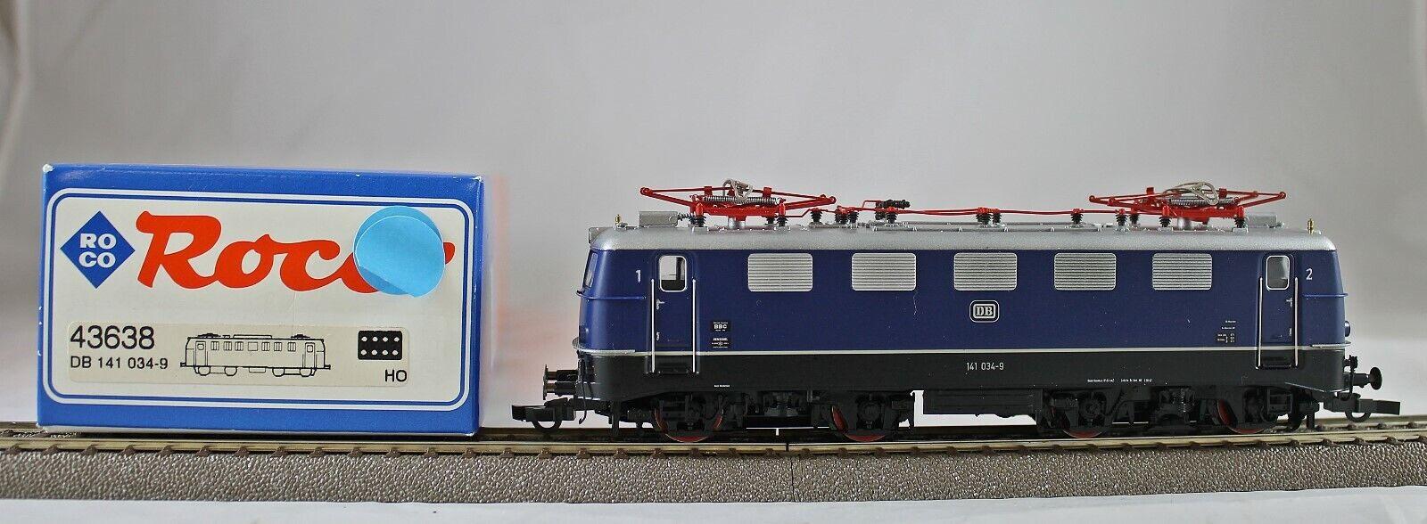 ROCO 43638 elektrolokomotive BR 141 delle DB da collezione con OVP DC