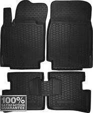 Rubber Carmats for Nissan Micra K12 2003-2009 All Weather Floor Mats