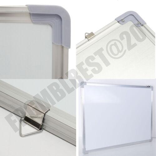 Magnetisches Whiteboard Kleine große weiße Tafel Trockenwisch Hinweis Office