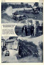 Das Bergrennen der Prinz-Heinrich-Fahrt 1908 bei Bacharach