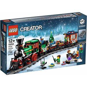 Lego-NEU-Original-Creator-Expert-Set-Weihnachten-Winter-Holiday-Train-10254