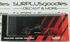 INNO64-1-64-2021-Release-NISSAN-SUNNY-HAKOTORA-ADVAN-Concept-Livery-Pickup-Truck
