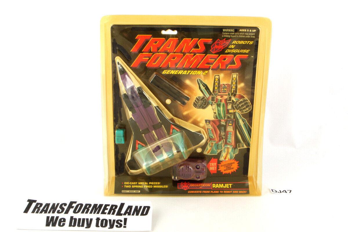 Ramjet Sealed MISB MOSC G2 Transformers