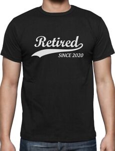 Retired-Since-2020-Funny-Retirement-Gift-Novelty-T-Shirt-Cool