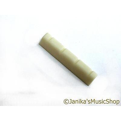 Cream ukulele nut 35mm x 5mm x 6mm with 9mm string spacing ukelele new Janika