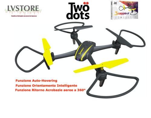 TWO DOTS SPARROW 3.0 CAMERA HD DRONE QUADRICOTTERO RADIOCOMANDATO VIDEO FOTO